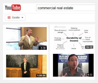 commercial real estate videos